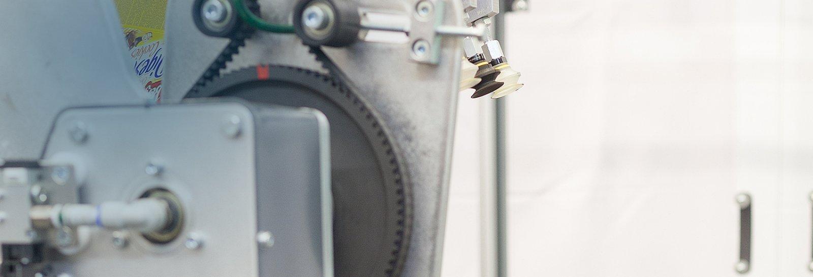 Urządzenia do foliowania i pakowania: produkcja – referencje